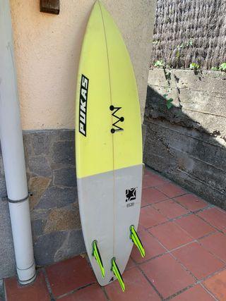 tabla de surf pukas solido 5'8'' shortboard
