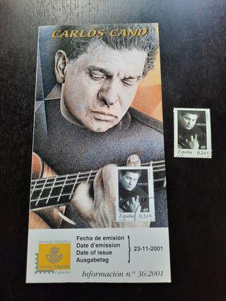 Carlos Cano Sello Oficial 2001