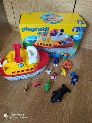 barco Playmobil 123