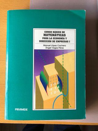 Curso básico Matemáticas ECONOMIA y D. Empresas