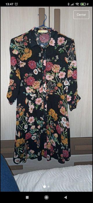 Vestido midi de flores