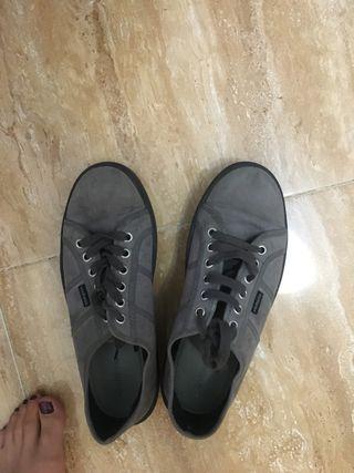 Zapatillas Victoria grises