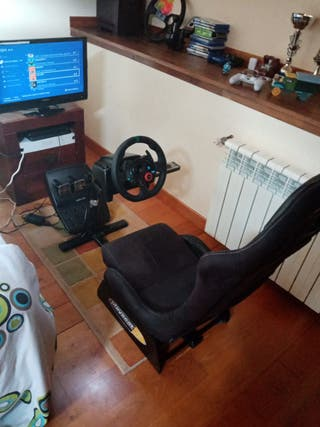 volante g29 + playseat