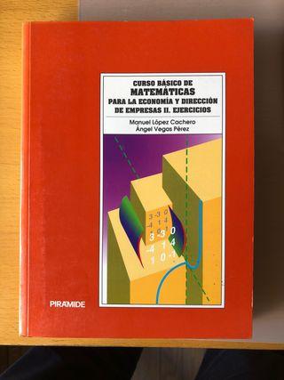 Curso Básico Matemáticas ECONOMIA- Ejercicios