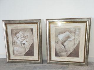 pareja de cuadros