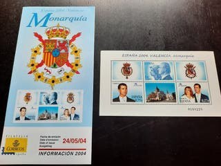 Monarquía Española Sellos Oficiales 2004