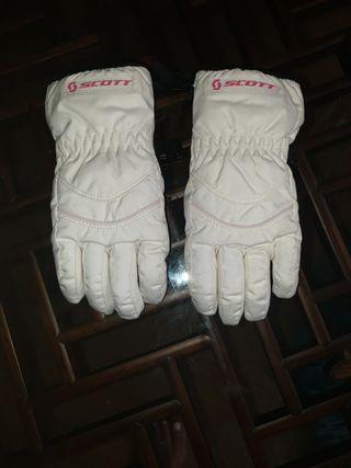 guantes esquiar niño/a talla 4/6 años