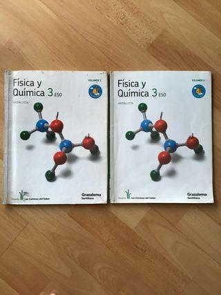 Libros Física y química 3 ESO