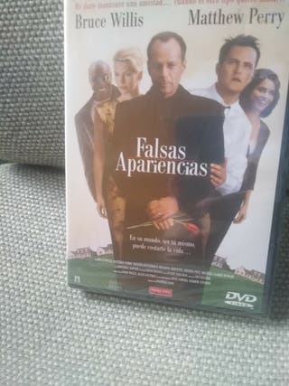 FALSAS APARIENCIAS - PELÍCULA DVD