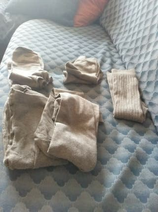 Lote de calcetines, leotardos y media -calcetin