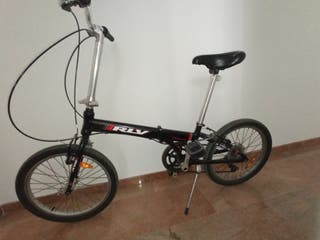 bicicleta plegable rlv underground
