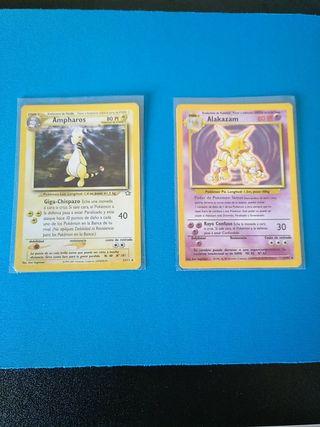 Cartas Pokémon - Primera Generación -