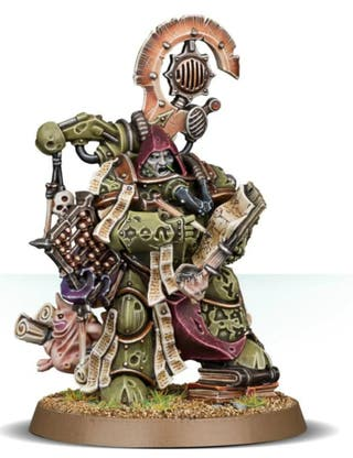 Warhammer 40k,Death Guard Tallyman,nuevo,en matriz