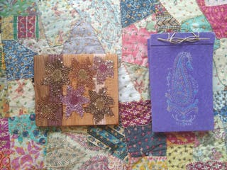 album y cuaderno