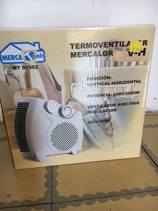 Calentador termo ventilador