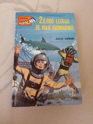 julio verne 20000 leguas de viaje submarino