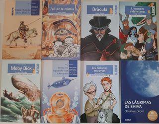 Libros secundaria valenciano y castellano
