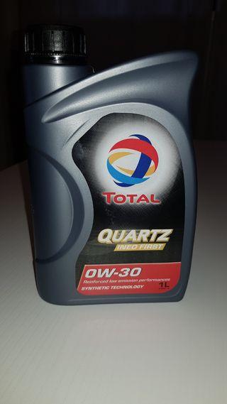 Aceite Total quartz 0W30