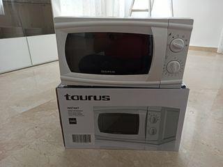 Microondas Taurus recien comprado