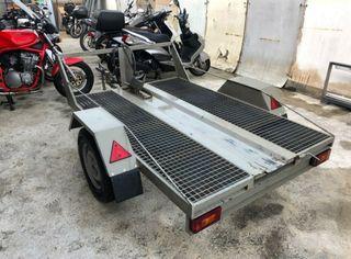 Remolque basculante para moto y quad