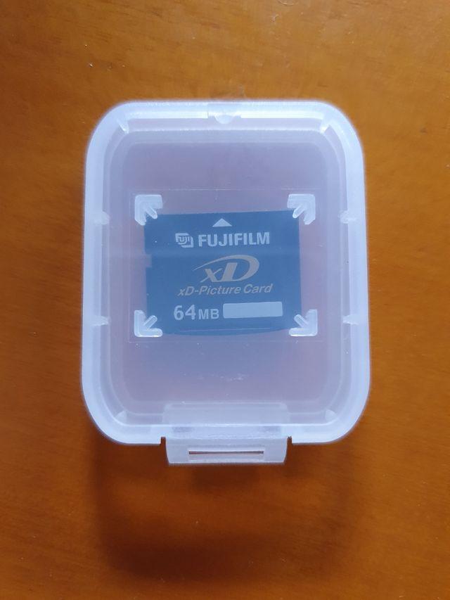 Tarjeta memoria XD Fujifilm cámara digital