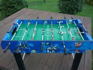 mesa de juegos: futbolín, billar y hockey de mesa