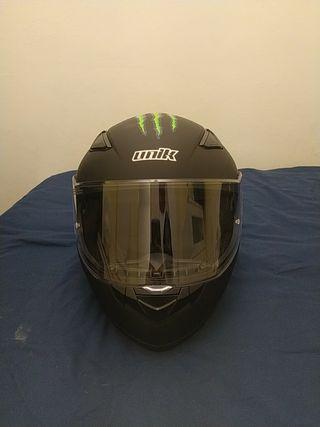 Casco unik de moto talla M