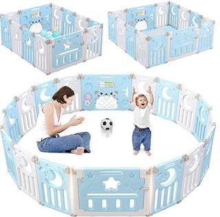 Parque de juego bebé plegable
