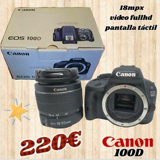 camara reflex Canon 100D