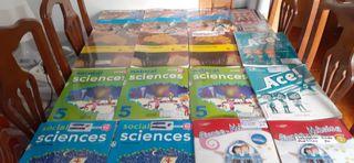 libros español , ciencias, matemáticas, música