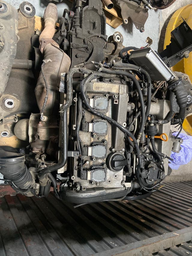 Motor audi 1.8 turbo