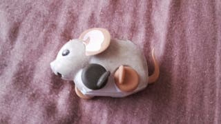 Regalo ratón correpasillos antiguo
