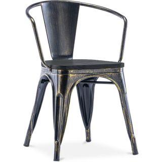 silla industrial tolix metal