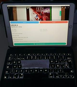 iPad Pro 10.5 + Smart Cover nueva + Extras