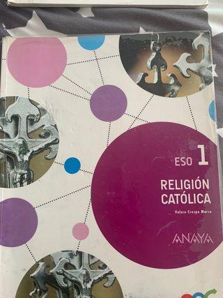 Vendo libro religión.