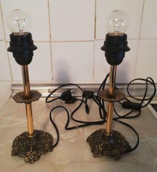 Lámparas bronce
