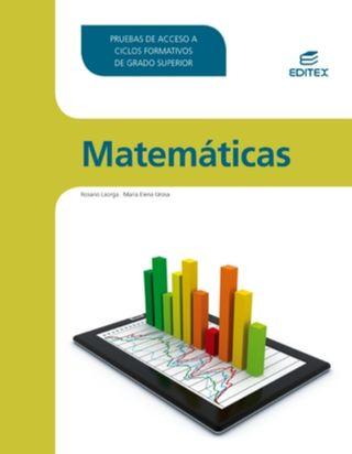 libro matemáticas acceso grado superior