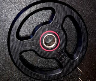 discos disco caucho pesas gym gimnasio 5kg