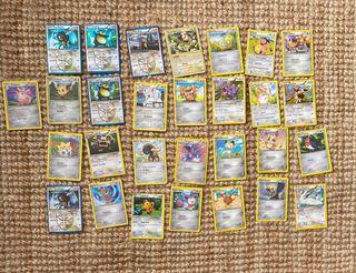 Cartas de pokemon tipo estrella