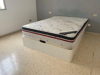 Cama con arcón + colchón