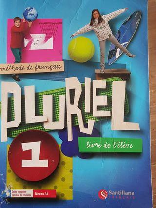 libro de francés + cuadernillo de ejercicios
