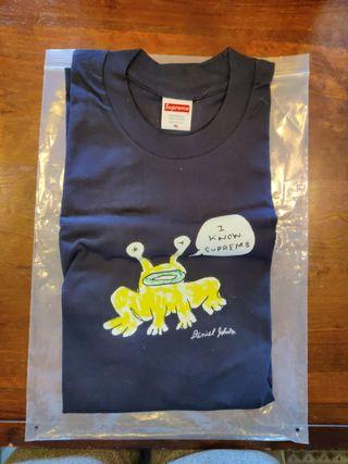 Camiseta Supreme Daniel Jhonston Frog