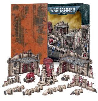 Warhammer 40k 9a escenografia