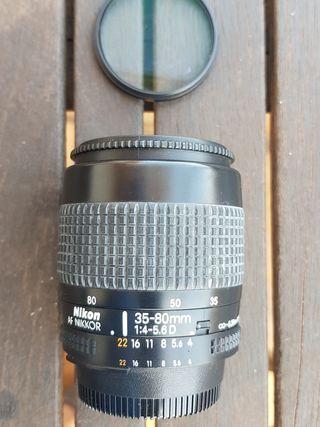 Objetivo Nikon 35-80 1:4-5,6 D