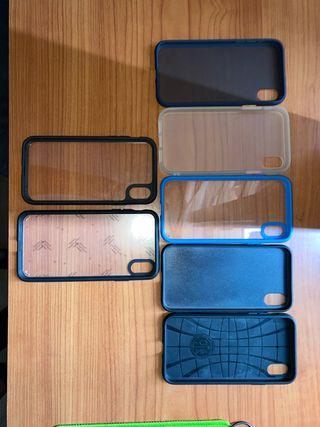 Vendo fundas iPhone XR y una funda iphone XS MAX