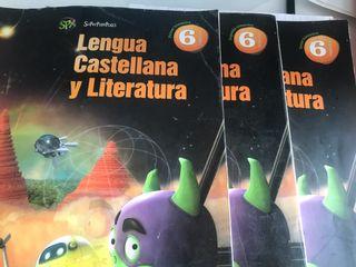 Libro lengua Castellana y Literatura 6º primaria
