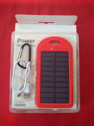 batería bank solar nueva