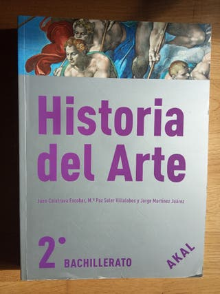 Historia del Arte 2° de Bachillerato