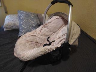 Funda rosa silla de paseo/ silla de coche