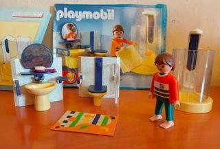 Playmobil Baño, cocina y habitacion